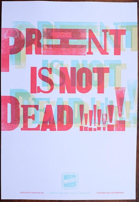 Print is not dead full
